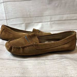 Sam Edelman Womens Size 10 Brown Penny Loafers